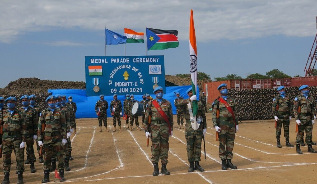 135 Indian Peacekeeping Soldiers Received UN Medal for Outstanding Service - 1