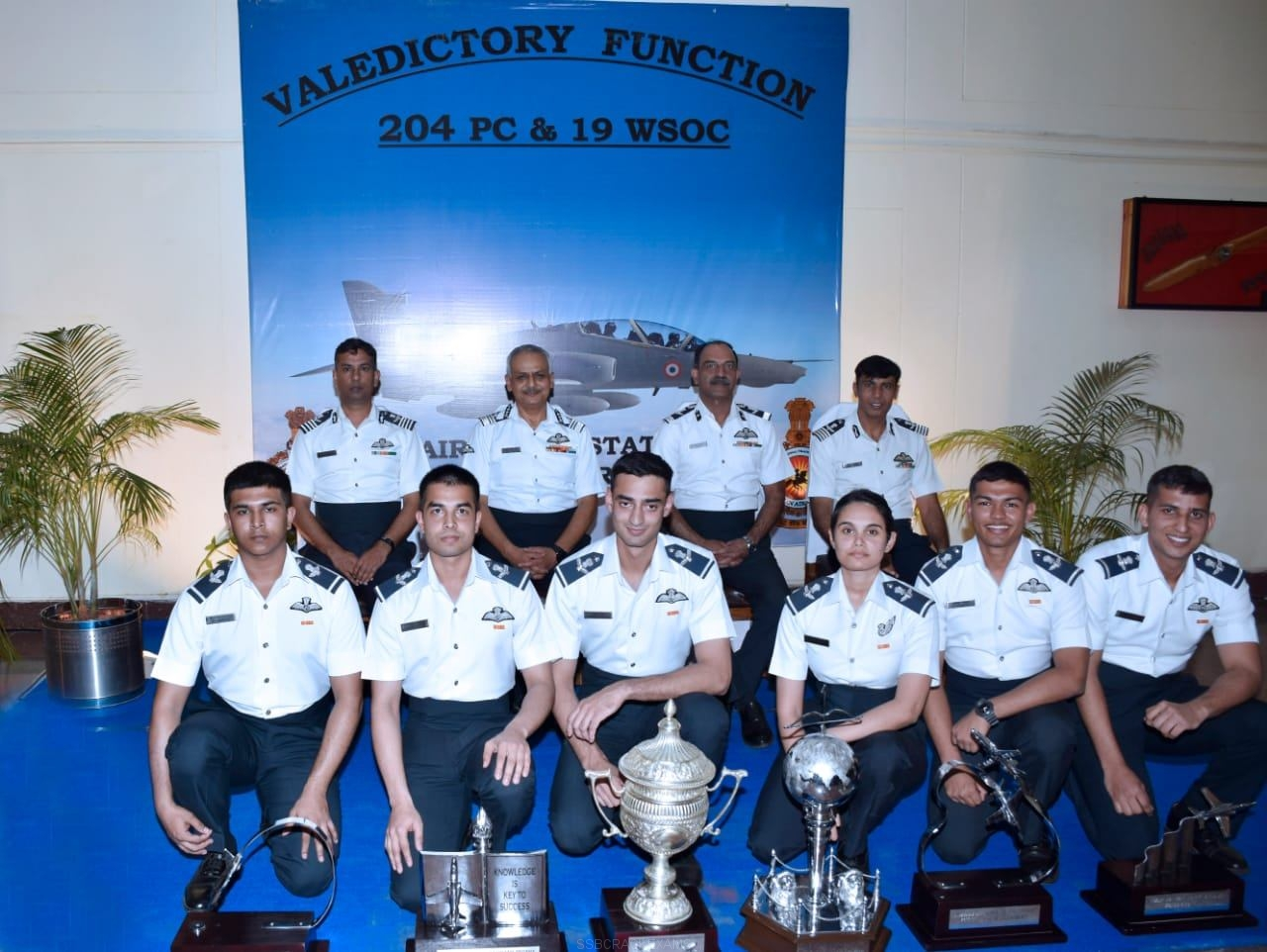20 Indian Airforce Pilots And Weapon System Operators (WSO) Successfully Completed Training - 1