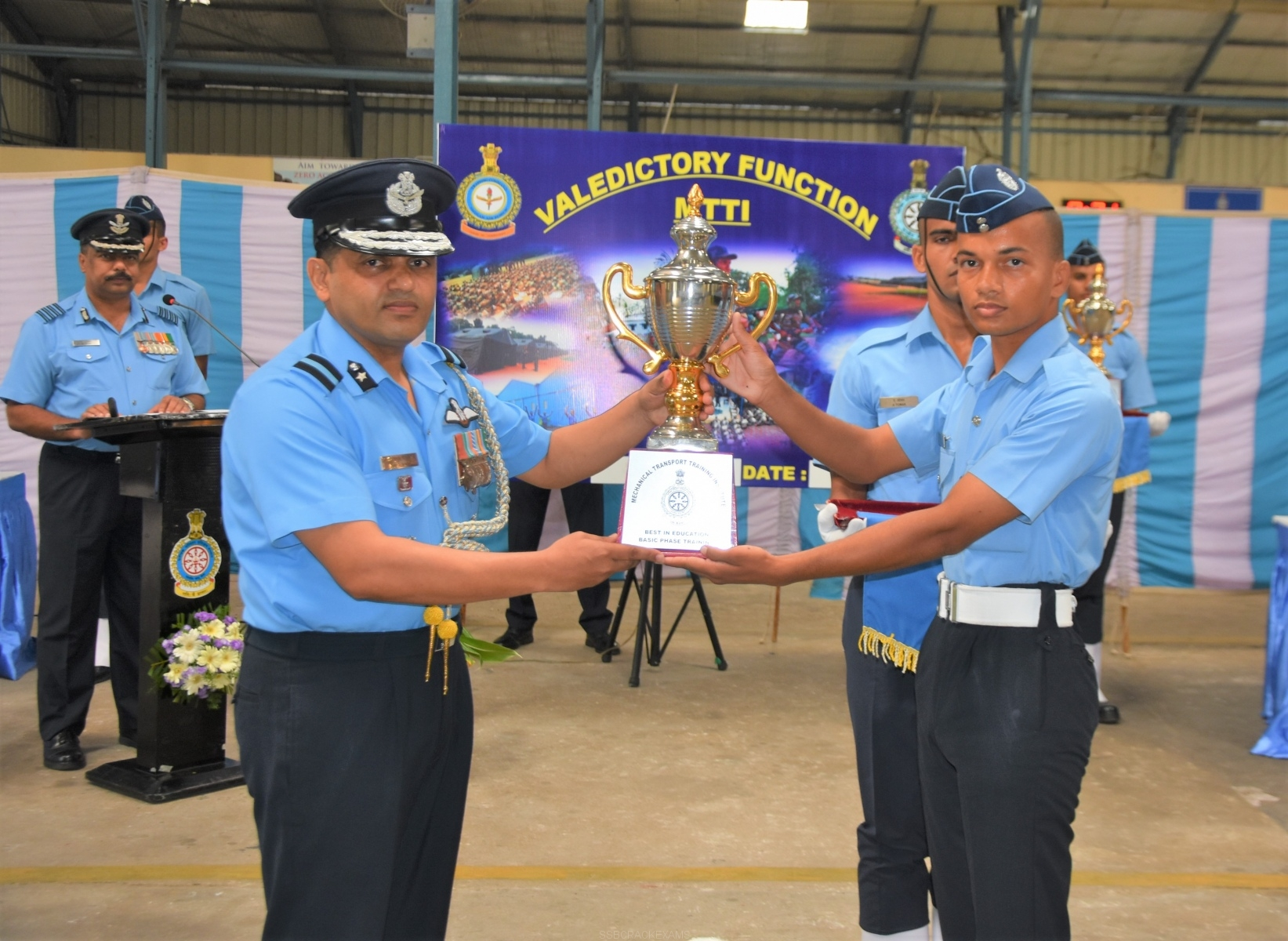 396 Trainees Pass Out From MTTI Air Force Station - 1