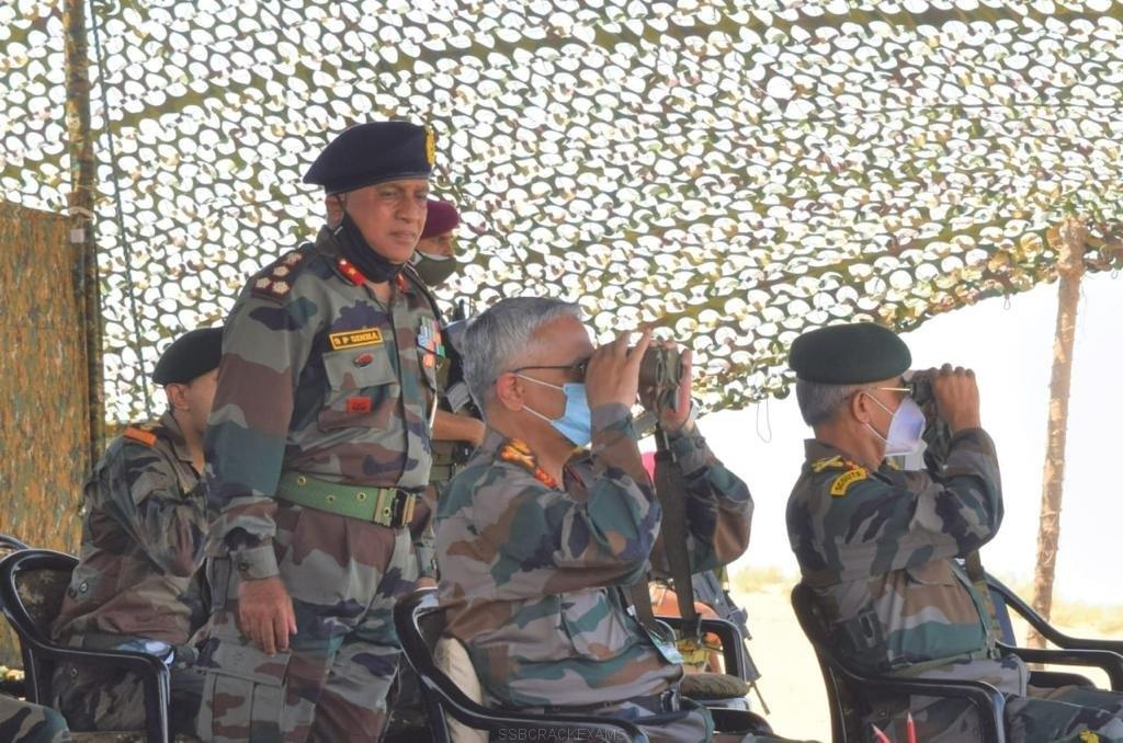 Chief Of Army Staff Visits Jaisalmer Military Station And Pokhran Field Firing Ranges (PFFR) - 1