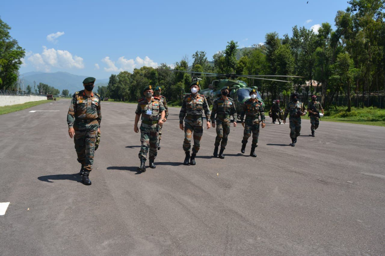 Chief Of Defence Staff General Bipin Rawat Visits Jammu To Review Security On LoC - 1