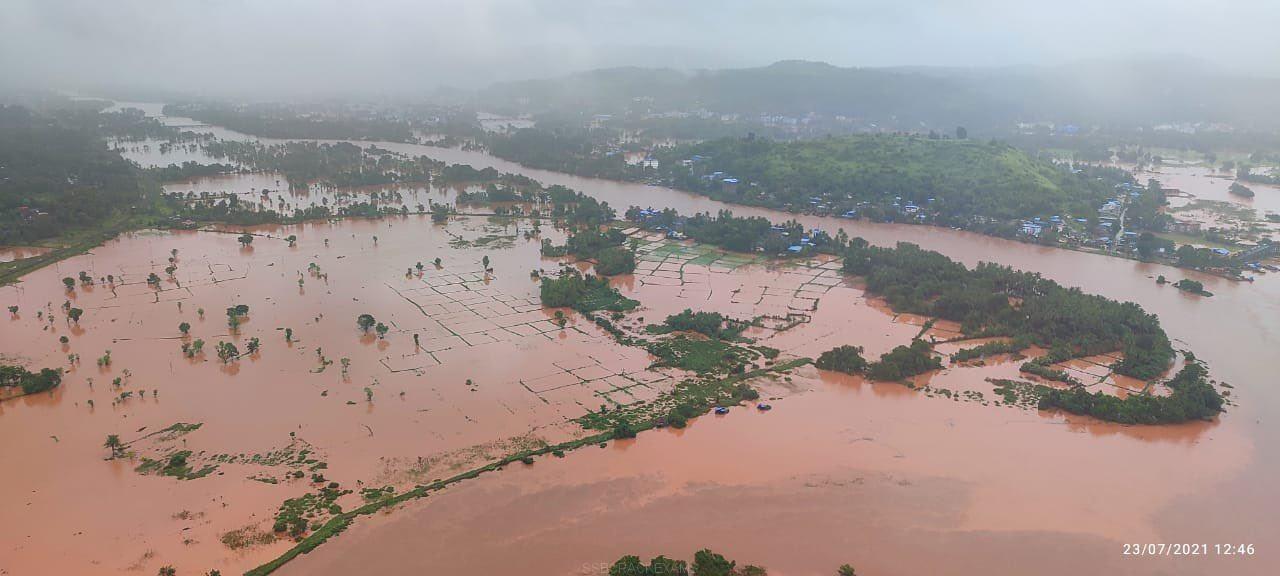 IAF Flood Relief Operations: Ratnagiri - 4