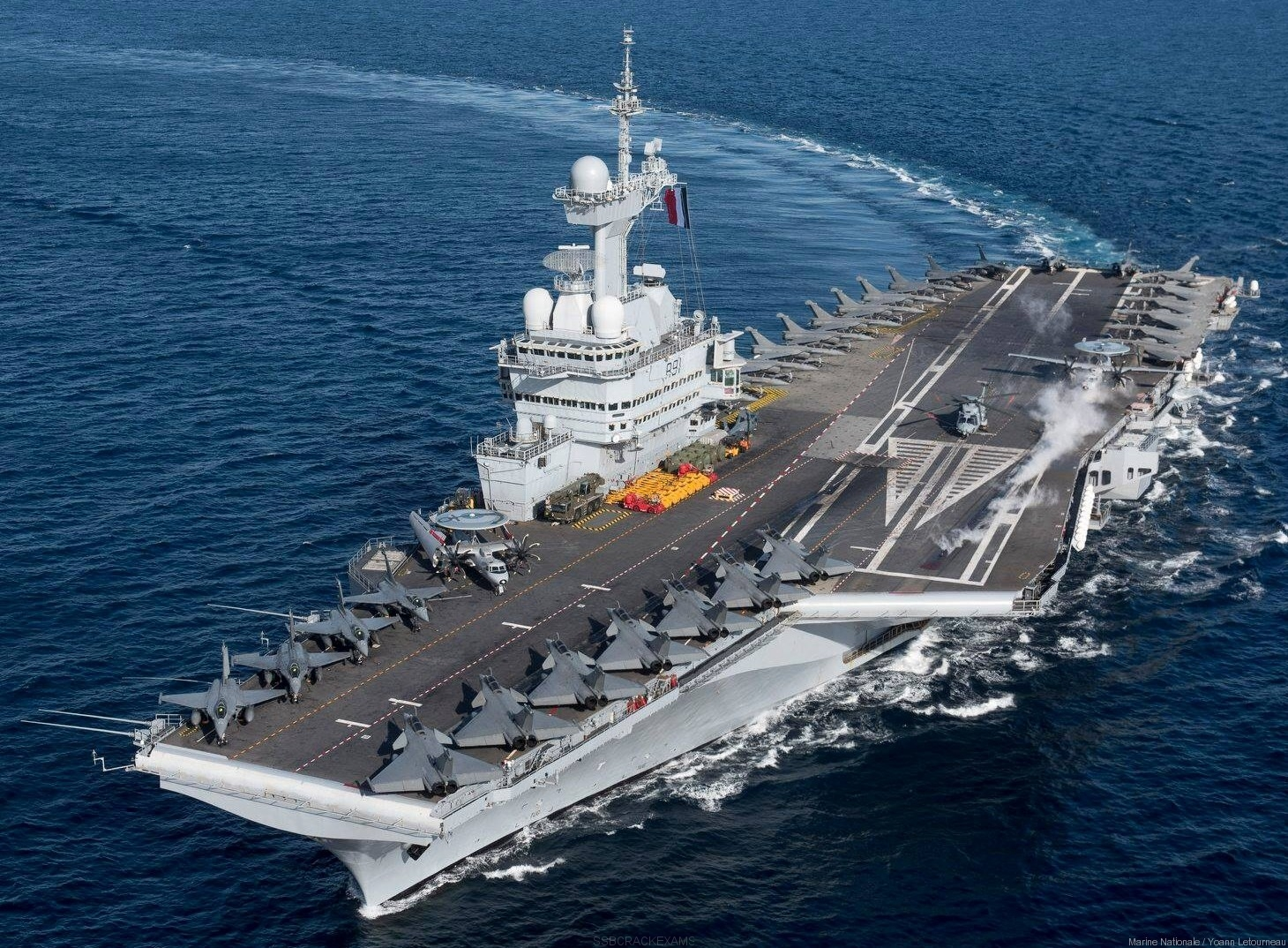 Indian And French Navy Bilateral Exercise 'VARUNA-2021' - 1