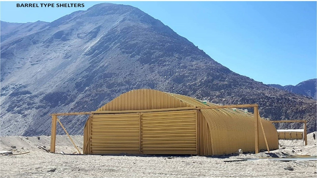 Indian Army New Shelters in Eastern Ladakh - 1