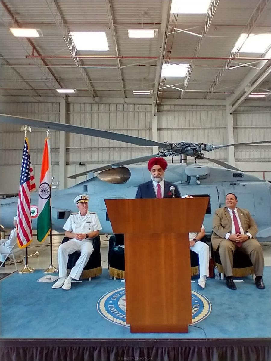 Indian Navy's First Batch Of Two MH-60R Seahawks - 12