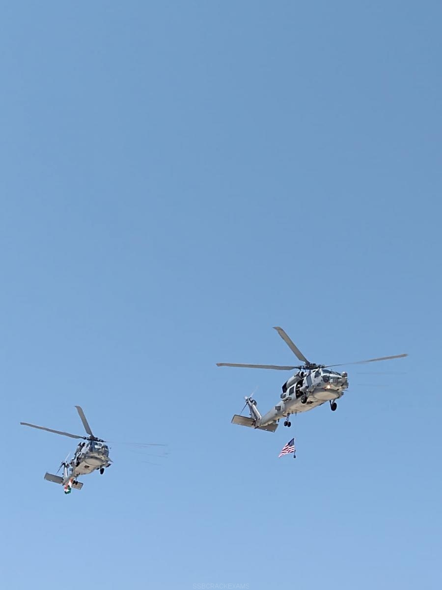Indian Navy's First Batch Of Two MH-60R Seahawks - 2