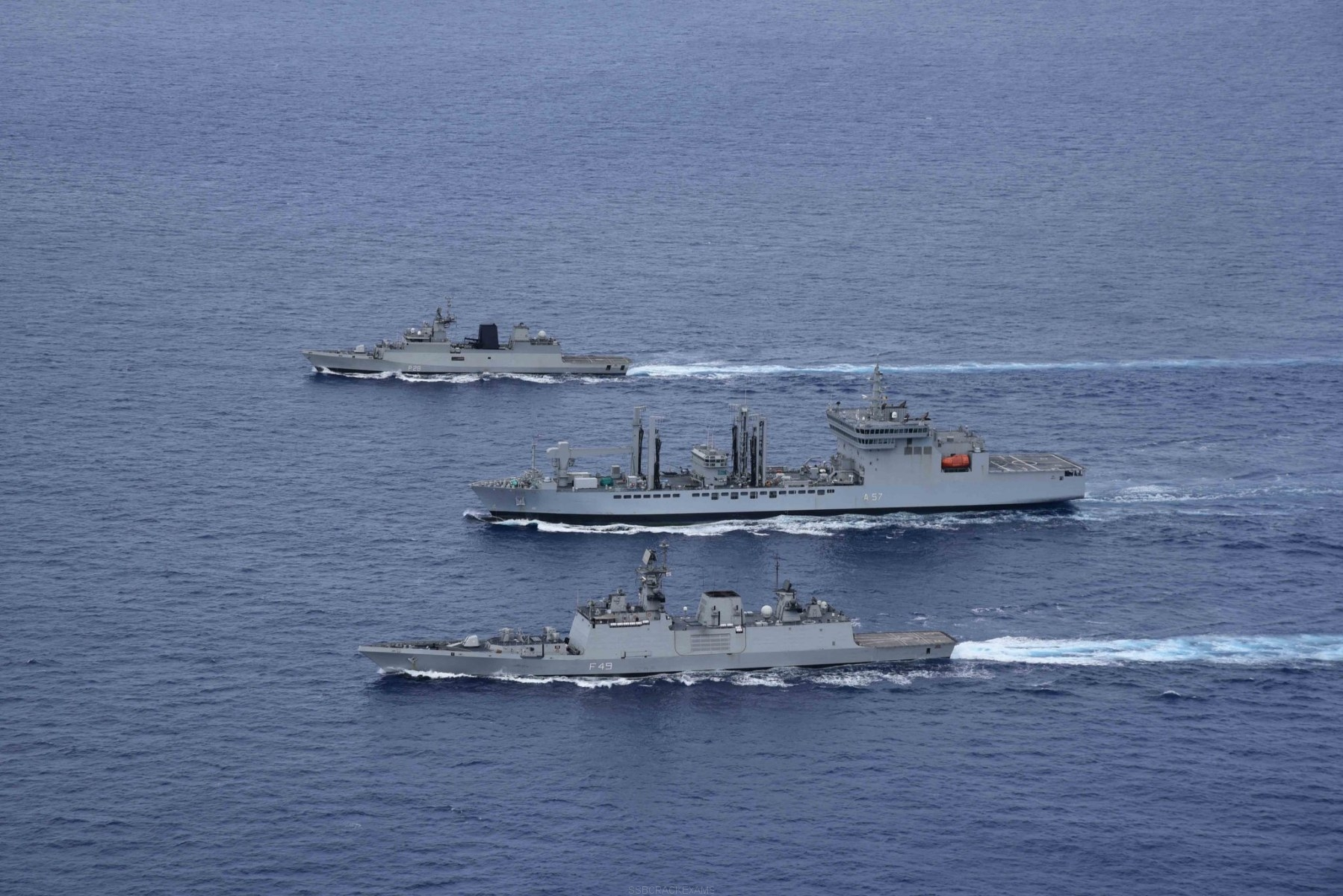 Indian Navy's Largest War Game (TROPEX 21) - 12