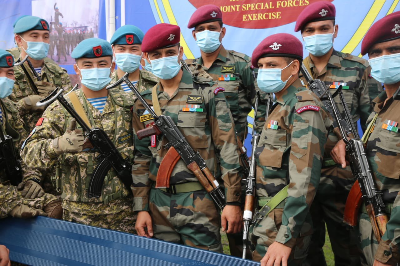"""Indo Kyrgyz Joint Special Forces """"Exercise Khanjar"""" - 1"""