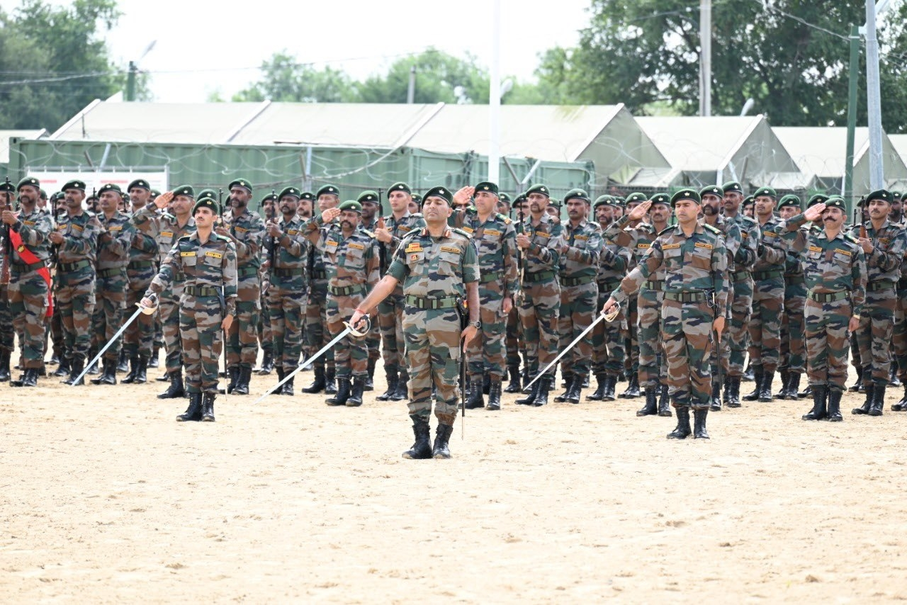 Opening Ceremony Of EXERCISE INDRA-21 - 1