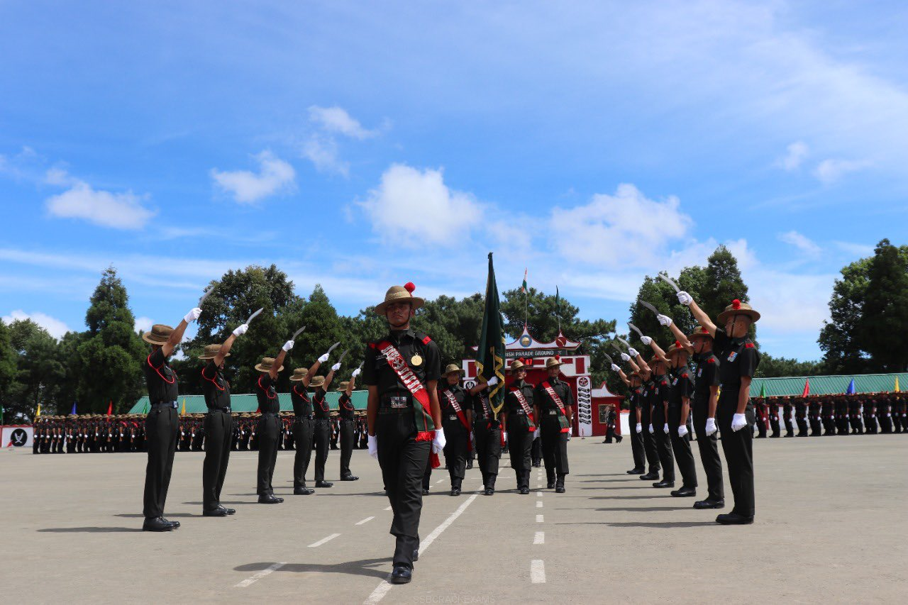 Passing Out Parade Of Young Gorkha Soldiers Held At 58 Gorkha Training Centre - 1
