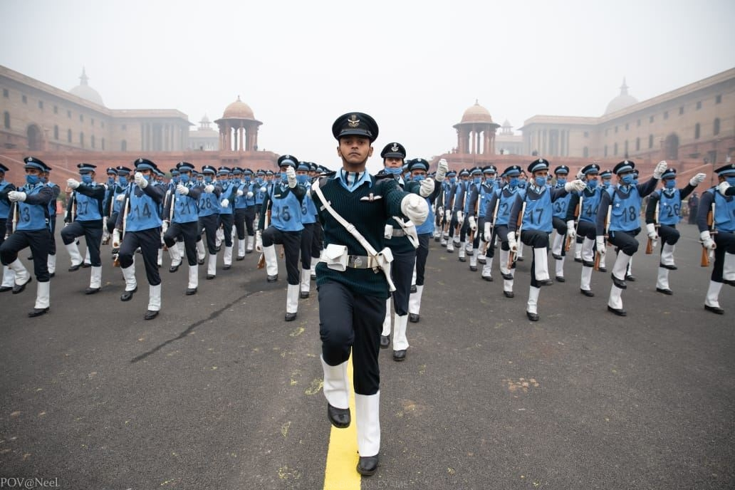 Republic Day Parade Rehearsal 2021 (Indian AirForce) - 1
