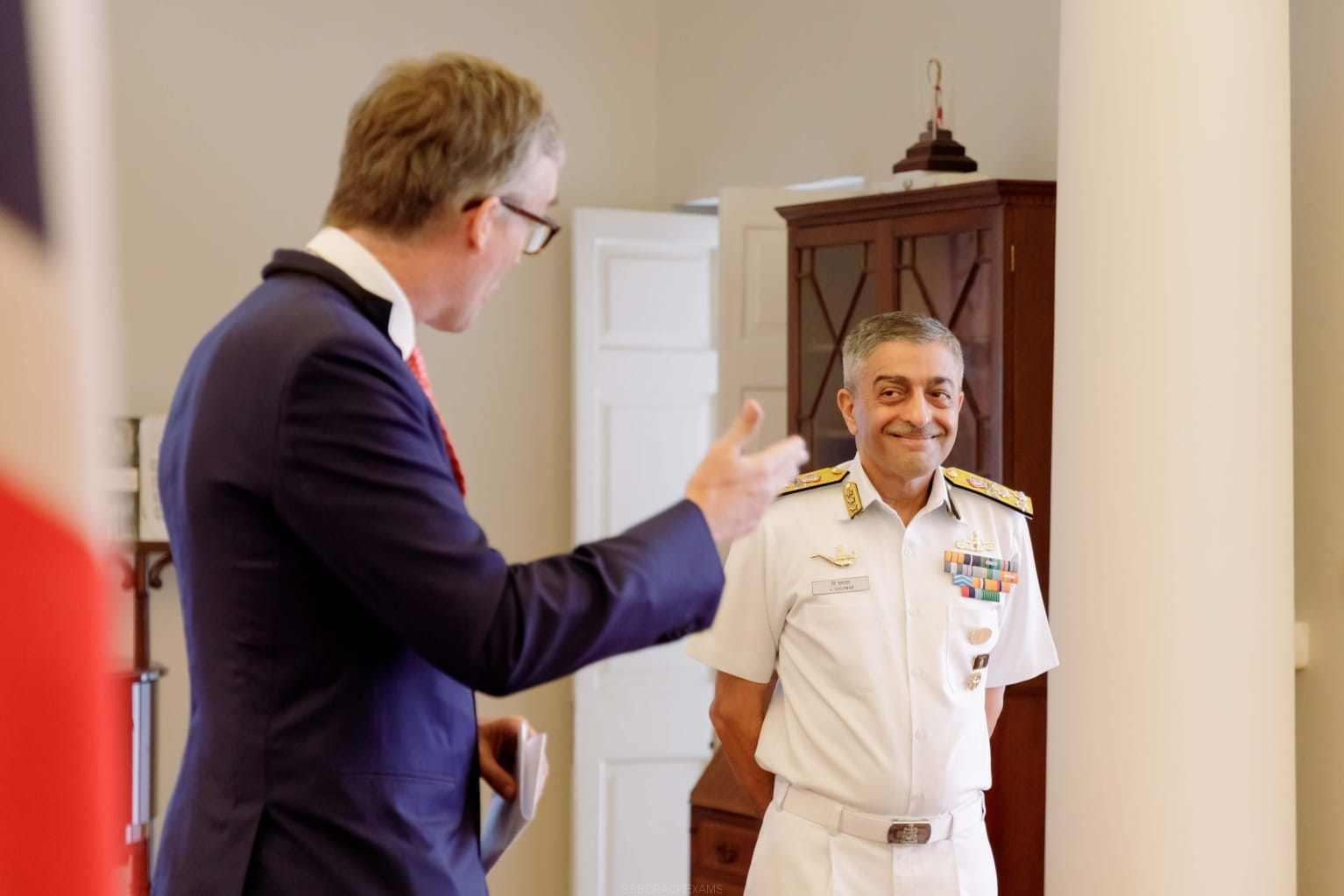 Vice Admiral Vinay Badhwar, AVSM, NM, Chief Hydrographer Receives Alexander Dalrymple Award - 1