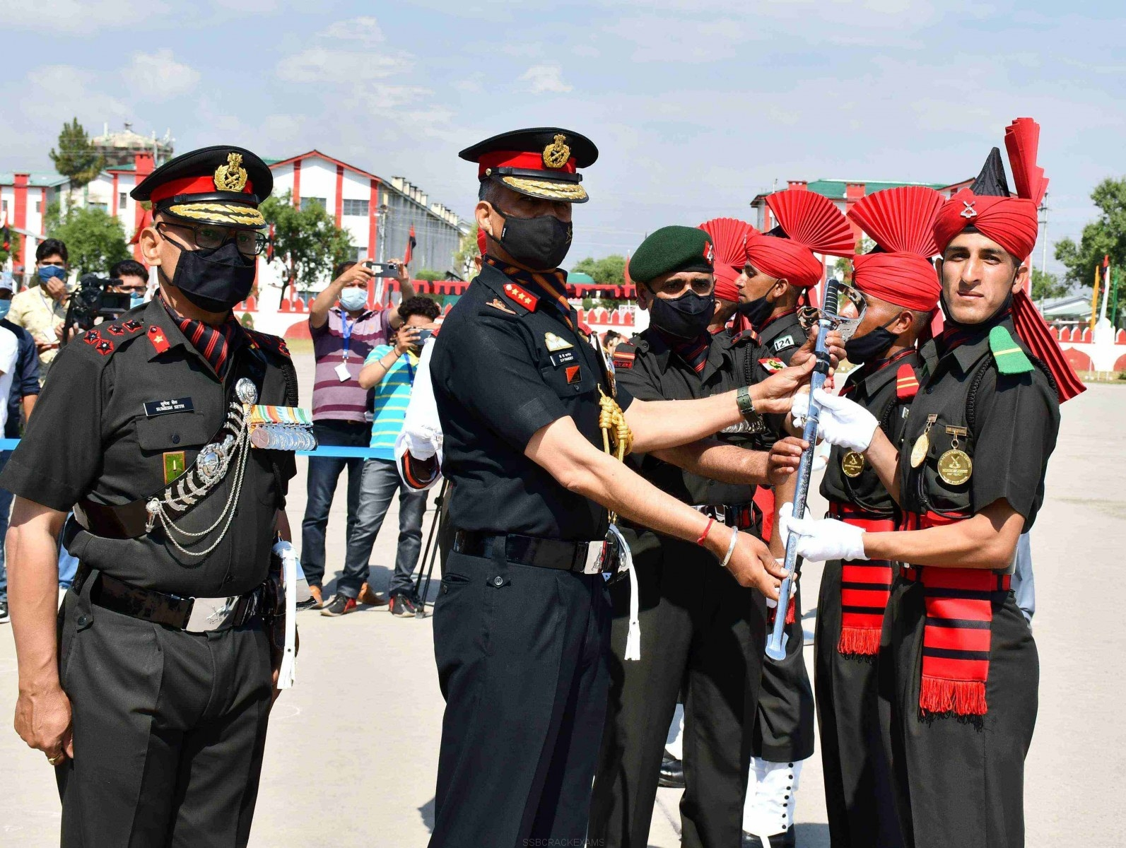 Young recruits from the Indian Army's Jammu and Kashmir Light Infantry (JAK LI) Battalion - 1