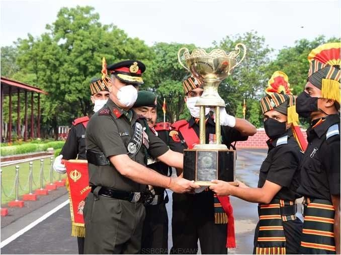 Young Soldiers Passing Out Parade Held At Jammu and Kashmir Rifles Regimental Centre - 1