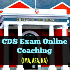 cds exam coaching