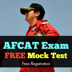 AFCAT Exam FREE Mock Test