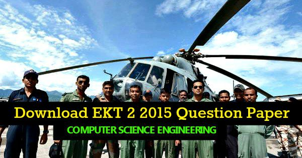 EKT 2 2015 Computer Science question paper