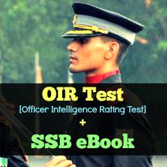 oir-test-ssb-interview