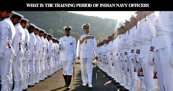 what-is-the-training-period-of-indian-navy-officers