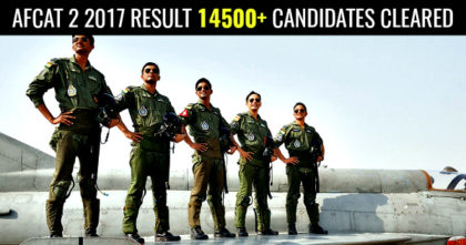 AFCAT-2-2017-RESULT-14500-CANDIDATES-CLEARED