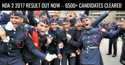 NDA 2 2017 RESULT OUT NOW