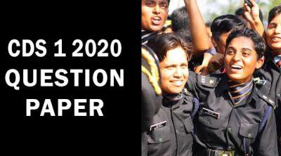 CDS-1-2020-Question-Paper