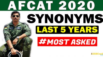 afcat-synonyms-2020