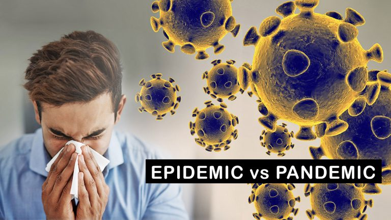 Epidemic and Pandemic