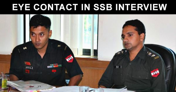 eye-contact-in-ssb-interview