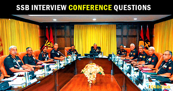 ssb-interview-conference-questions