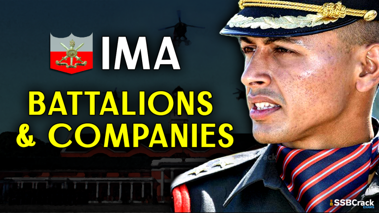 Indian Military Academy Battalions and Companies