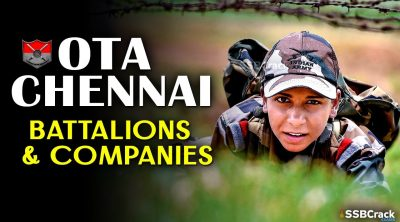 OTA Chennai Battalions And Companies