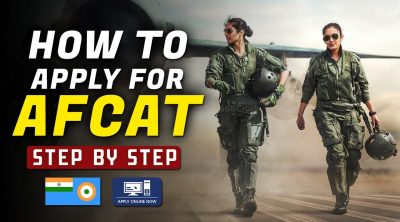 how to apply for afcat exam online