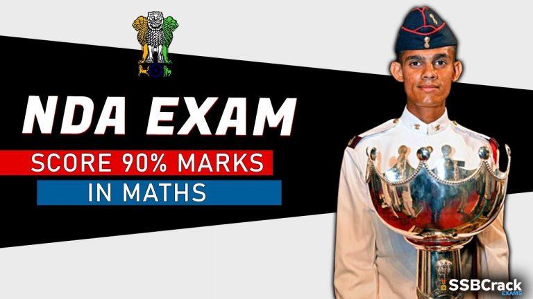 nda exam maths