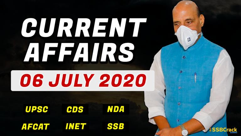 06 Jul 2020 Current Affairs