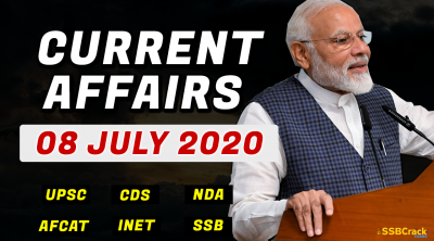 08 July 2020 Current Affairs