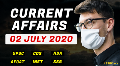 2 July 2020 Current Affairs