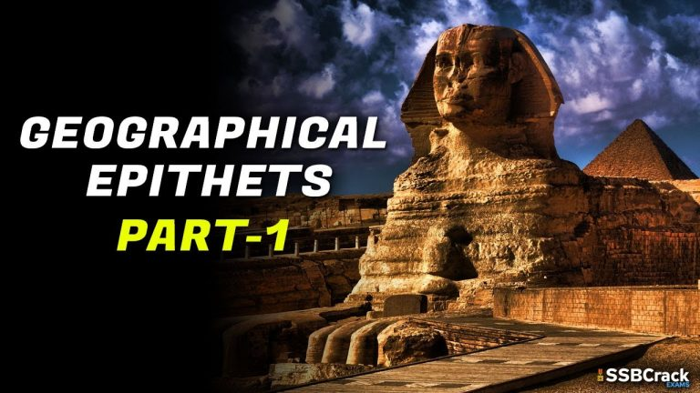 Complete List of Geographical Epithets