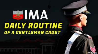 Daily Routine of IMA Gentleman Cadets
