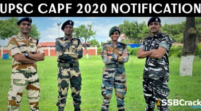 UPSC-CAPF-2020-Notification