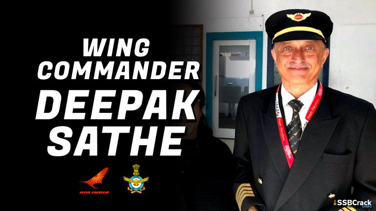 Wing Commander Deepak Vasant Sathe