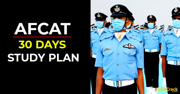 afcat-30-days-study-plan