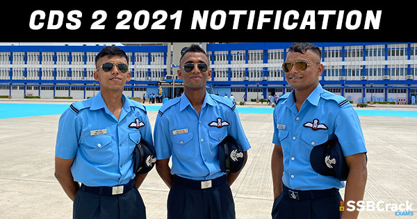 CDS 2 2021 Notification And Exam Date