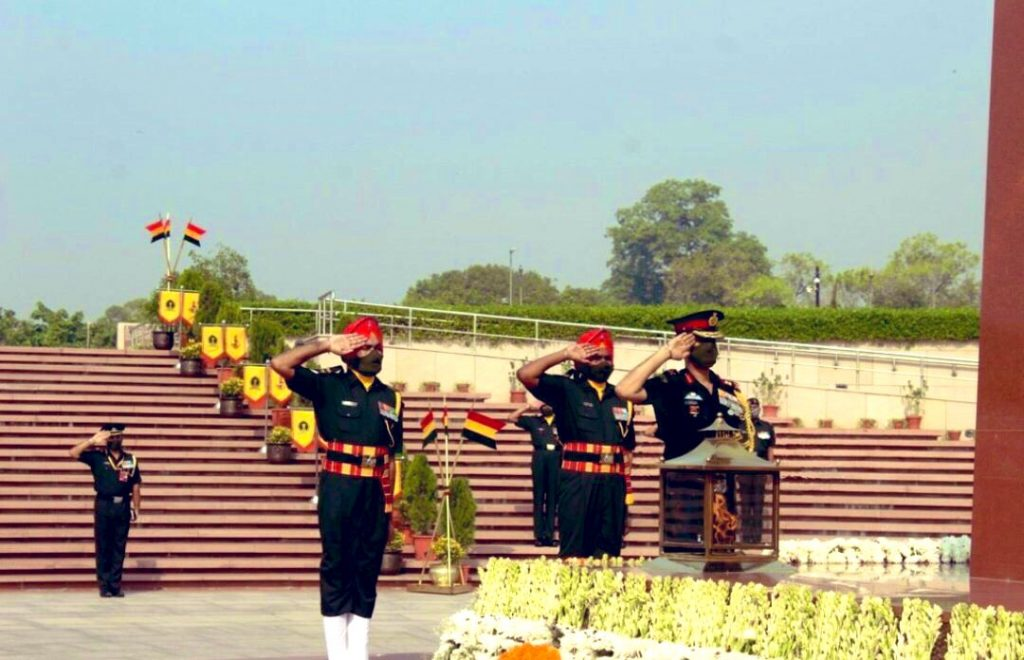 Lieutenant General D.P. Pandey is the first director general of the Territorial Army | Twitter: @adgpi
