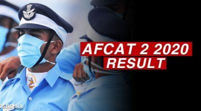 afcat-2-2020-result