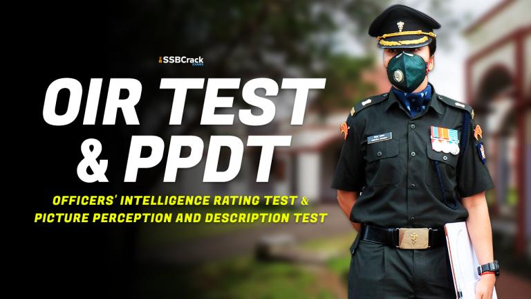 oir test and ppdt