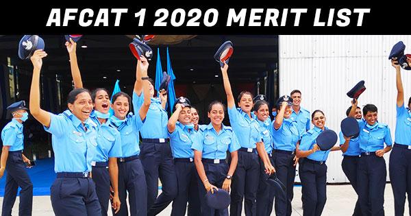 afcat-1-2020-merit-list