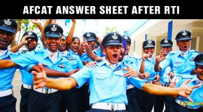 AFCAT-Answer-SHEET-After-RTI