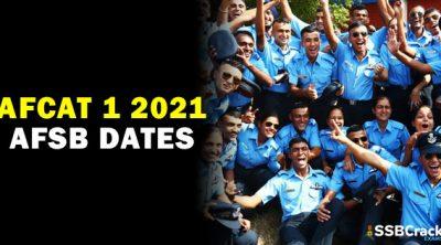afcat-1-2021-afsb-dates