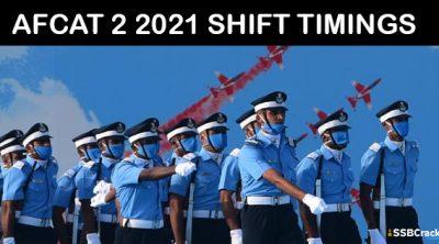 AFCAT-2-2021-SHIFT-TIMINGS